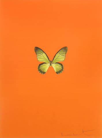 Damien Hirst-Untitled 01, from New Beginnings-2011