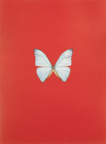 Damien Hirst-Untitled 06, from New Beginnings-2011