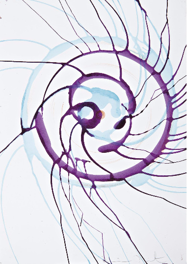 Untitled (Spin Drawing)-2002