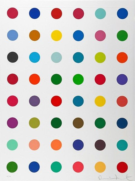 Damien Hirst-Untitled (from Re-Object, Mythos Portfolio)-2007
