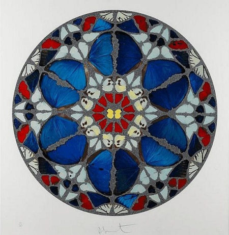 Damien Hirst-Verba Mea Auribus (from Psalm Prints)-2009