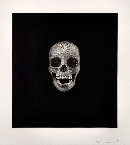 Damien Hirst-Victory Over Death (Diamond Skull)-2008