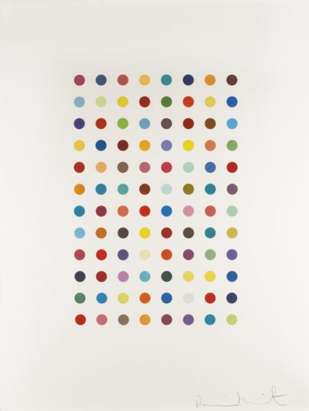 Damien Hirst-Xylene Cyanol Dye Solution-2005