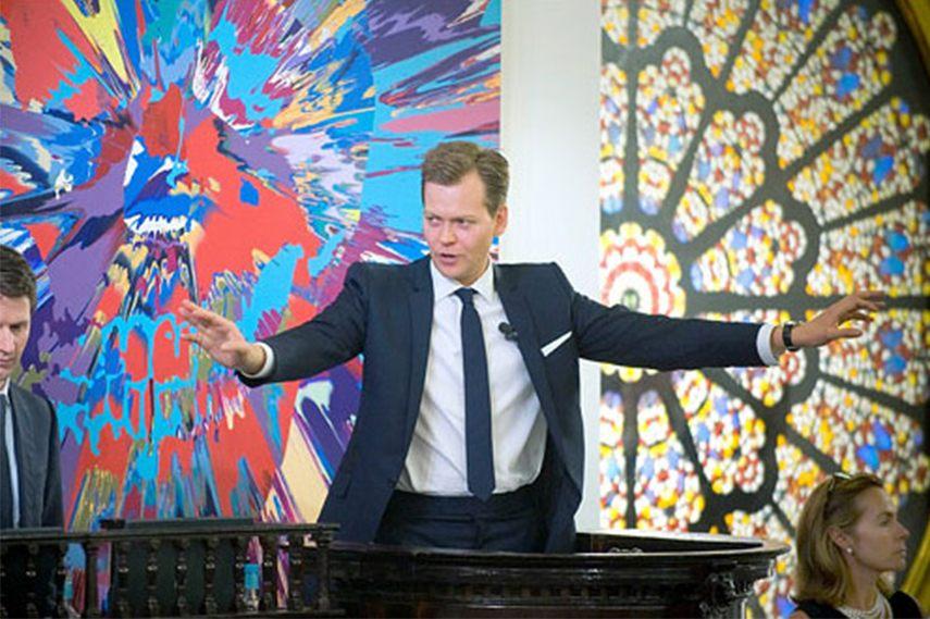 Damien Hirst art auction