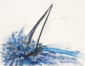 Dan Flavin-Untitled (Sails)-1986