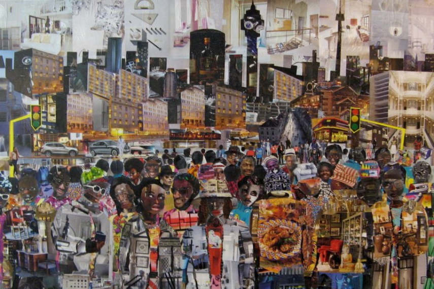 The works of Dario Manjate can be seen on Facebook without cookies and in Sandton gallery
