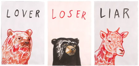 Dave Eggers-Untitled (Triptych)-2015