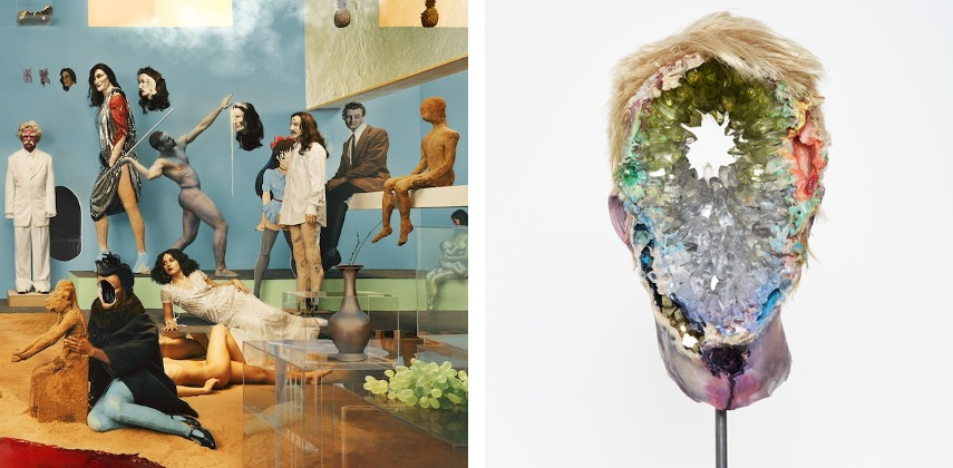 work work new new gallery gallery york york museum museum brussels exhibitions exhibitions univeristy 2011 arts march university David Altmejd - Album Cover fot the Yeasayer Amen & Goodbye, 2016, photo credits Pitchfork (Left) / Eye (Right)