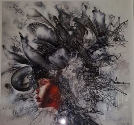 David Choe-Death Blossom-2009