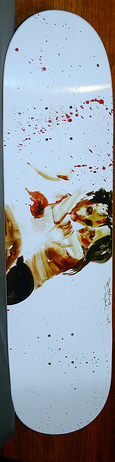 David Choe-Flesh Wound deck-