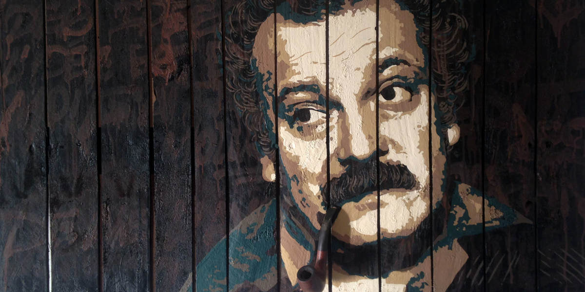 David Clement - Brassens (detail), 2016 - photo credits of the artist and Declicart galerie
