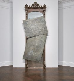 David Hammons - Photo of an untitled instalation - Photo via Tom Powel Imaging