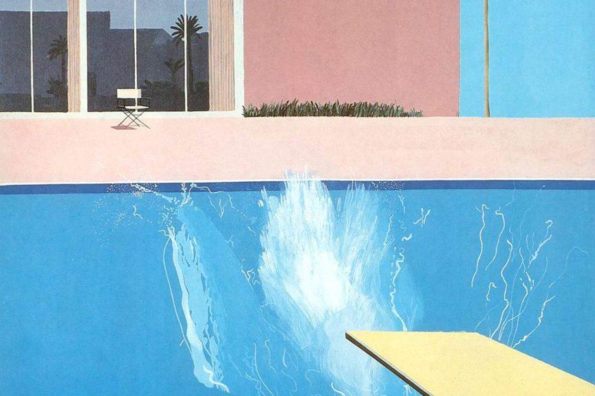 David Hockney – A Bigger Splash, 1967 | WideWalls
