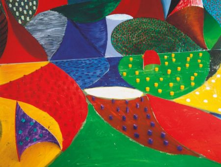 David Hockney-Fifth Detail Snails Pace March 27Th 1995 (Museum Of Contemporary Art Tokyo 359)-1995