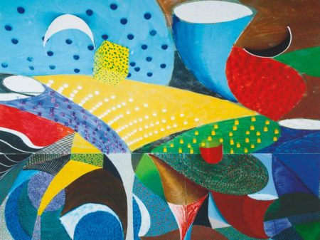 David Hockney-Fourth Detail Snails Pace March 27Th 1995 (Museum Of Contemporary Art Tokyo 358)-1995
