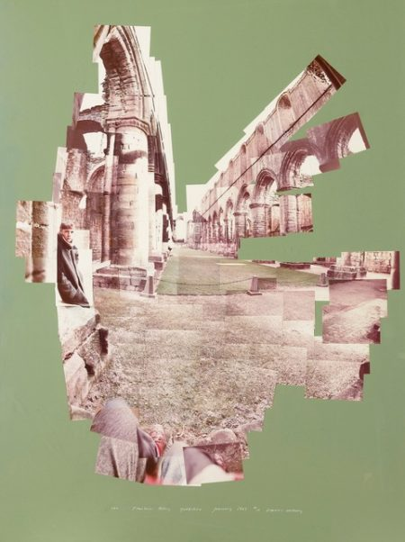 David Hockney-Ian, Fountains Abbey, Yorkshire-1983