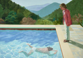 hockney's works featured this february is said to be good like his previous work