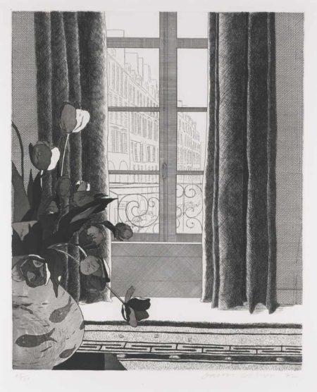 David Hockney-Rue De Seine-1972