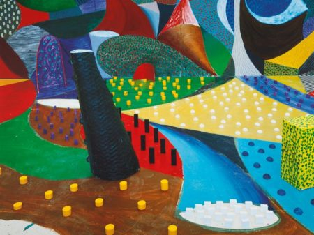 David Hockney-Second Detail Snails Pace March 25Th 1995 (Museum Of Contemporary Art Tokyo 356)-1995