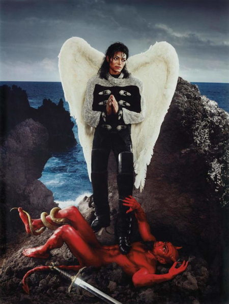 David LaChapelle-Archangel Michael: And No Message Could have Been Any Clearer, Hawaii-2009