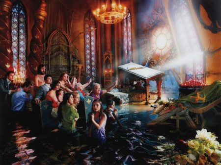 David LaChapelle-Cathedral, Los Angeles-2007