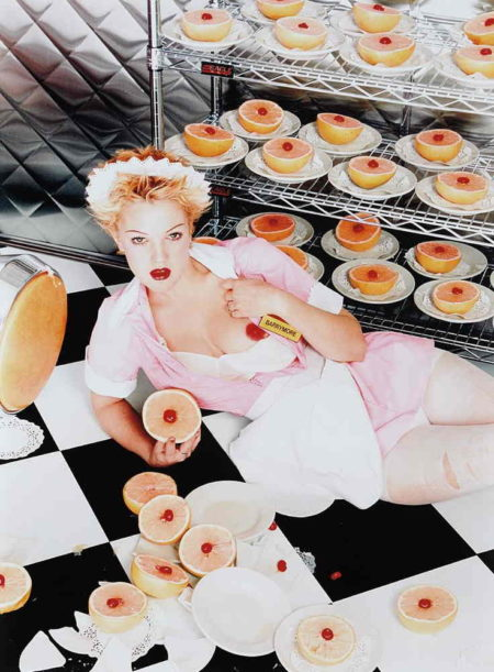 David LaChapelle-Drew Barrymore: A Waitress-1995