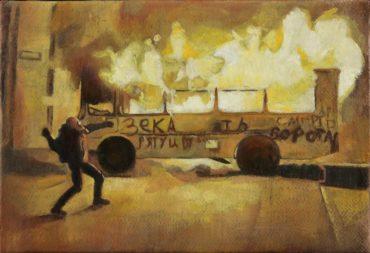 New David Molesky Exhibition Brings the Riot to Stephen Romano Gallery
