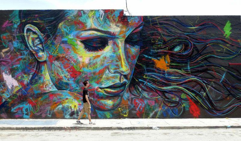 David Walker best graffiti piece