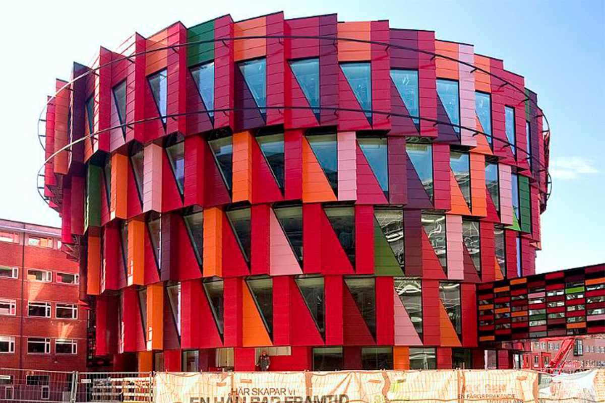Deconstruction building architecture