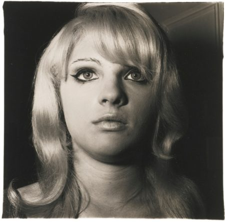 Diane Arbus-Blonde Girl With Shiny Lipstick, N. Y. C.-1967