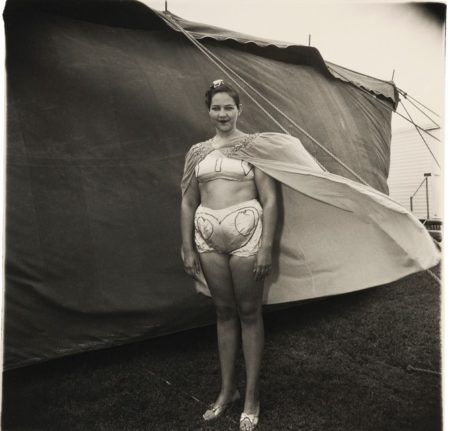 Diane Arbus-Girl In Her Circus Costume, Md-1970