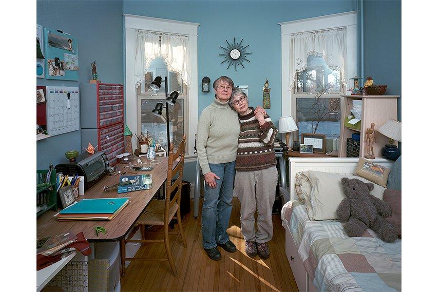 Dona Schwartz - Chris and Susan, 7 Months, 2012