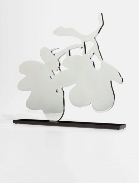 Donald Sultan-Silver Lantern Flowers-2014