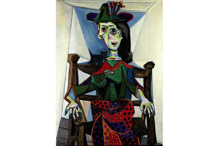 Pablo Picasso - picasso's nude portrait of a non spanish woman