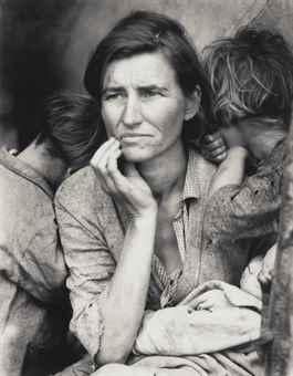 Dorothea Lange-Migrant Mother-1936