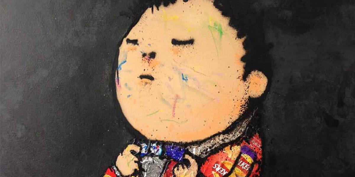 Dran - Dran portrait (detail)