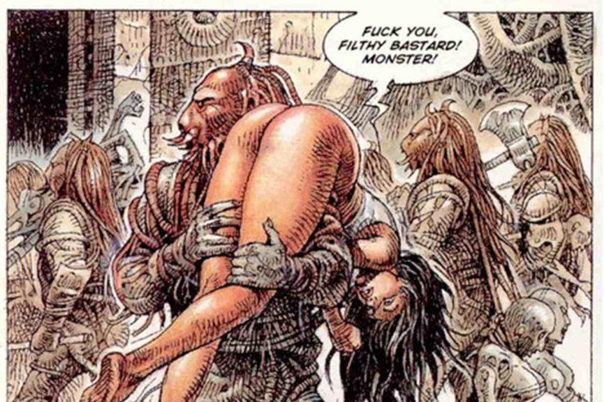 Druna erotic comix