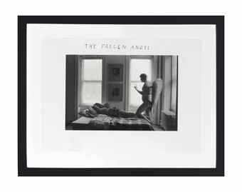 Duane Michals-Fallen Angel-1968