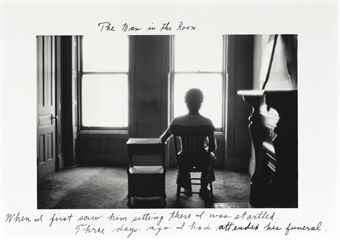 Duane Michals-The Man in the Room-1975
