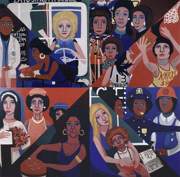 Faith Ringgold - For the Women –s House, 1971