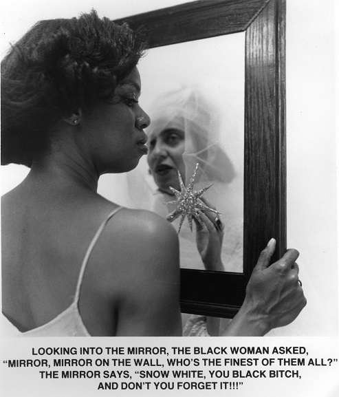 Carrie Mae Weems - Mirror Mirror, 1987–88