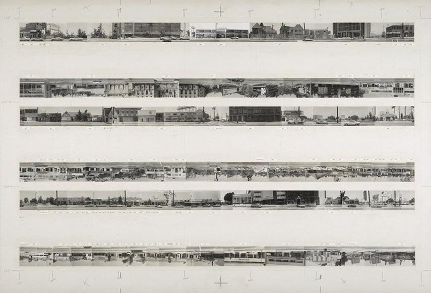 Ed Ruscha - Every Building On Sunset Strip, 1966
