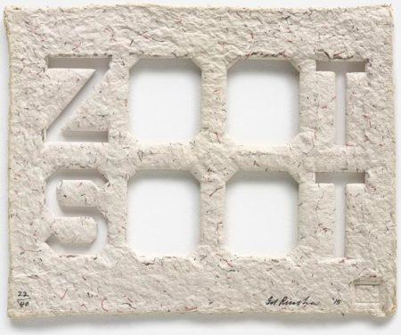 Ed Ruscha-Zoot Soot-2015