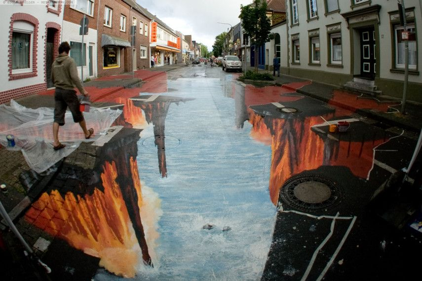 english deutsch chalk select pavement amazing project