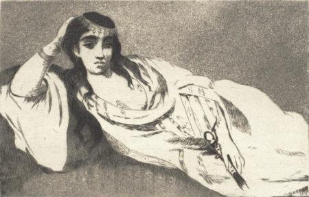 Edouard Manet-Odalisque-1868