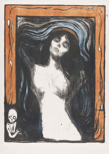 Edvard Munch-Madonna-1902