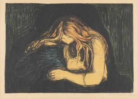 Edvard Munch-Vampyr II-1902