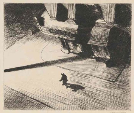 Edward Hopper-Night Shadows-1922