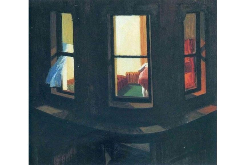 Edward Hopper – Night Windows, 1928 | WideWalls