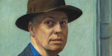 Edward Hopper - Self Portrait (1925-1930) detail cape home Museum